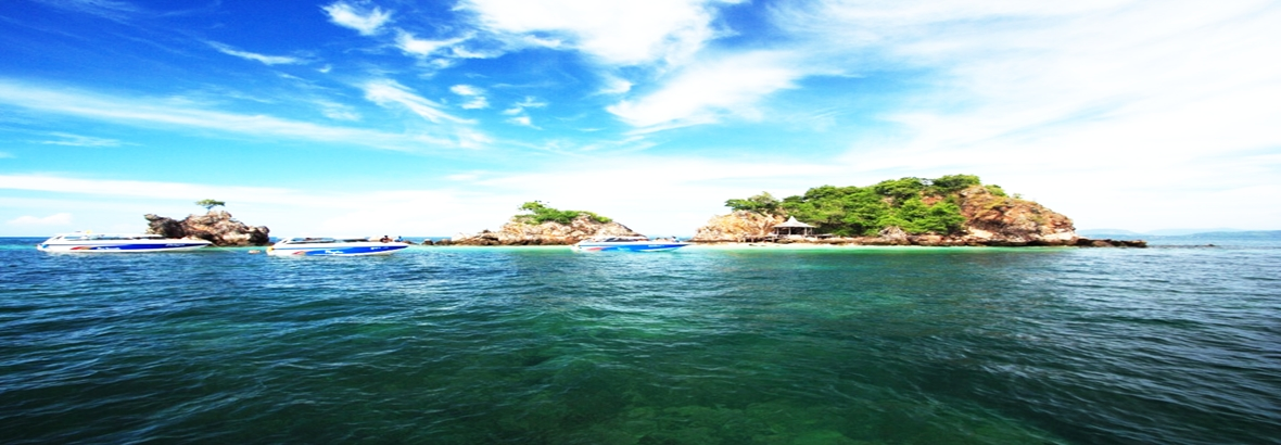 Phi Phi & Khai island tour by speedboat